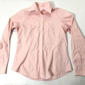 Brooks Brothers Tops - Brooks Brothers Size 8 Pink Button-up Dress Shirt